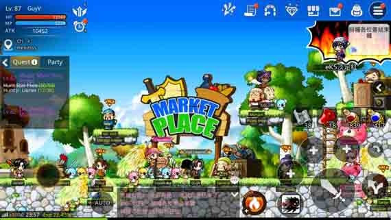 A Mini Dungeon in MapleStory